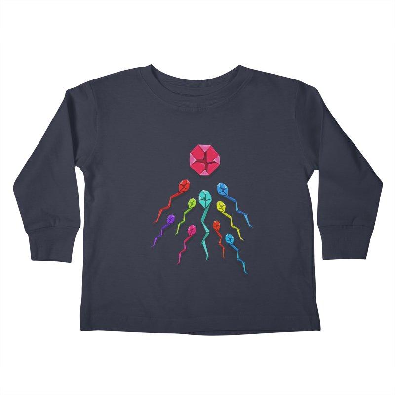 Origasmi Kids Toddler Longsleeve T-Shirt by ZEROSTILE'S ARTIST SHOP