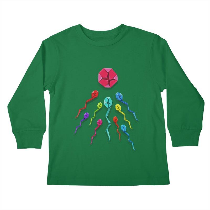 Origasmi Kids Longsleeve T-Shirt by ZEROSTILE'S ARTIST SHOP
