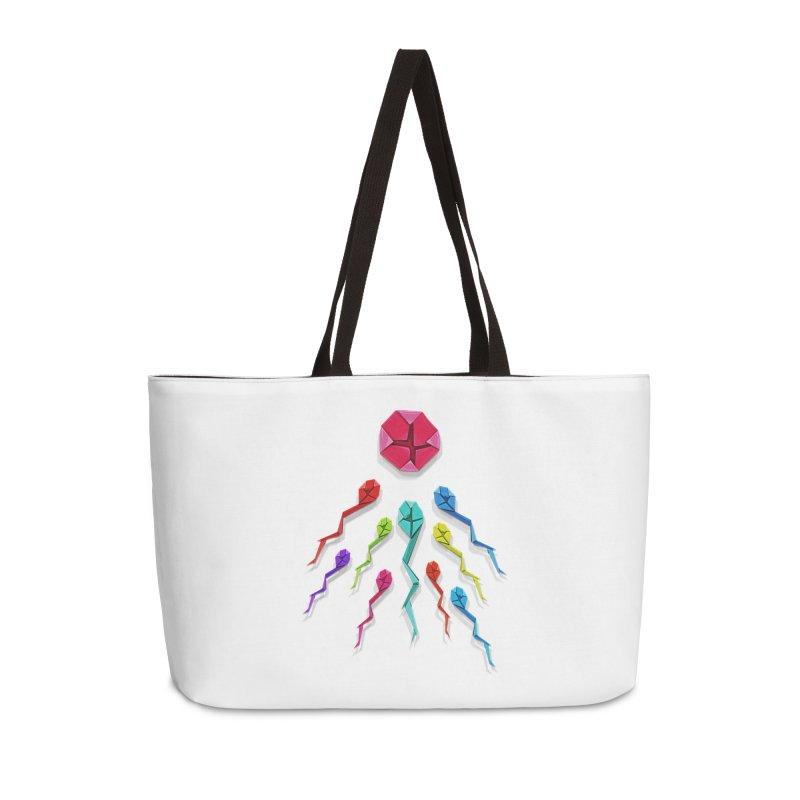 Origasmi Accessories Weekender Bag Bag by ZEROSTILE'S ARTIST SHOP