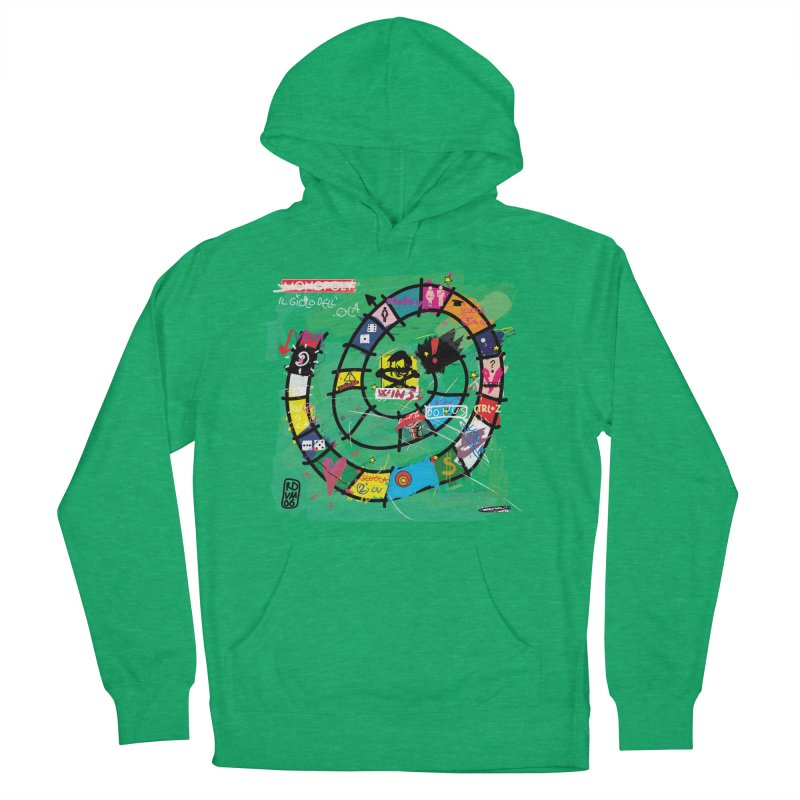 Goose game Women's Pullover Hoody by ZEROSTILE'S ARTIST SHOP