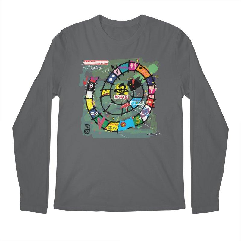 Goose game Men's Longsleeve T-Shirt by ZEROSTILE'S ARTIST SHOP