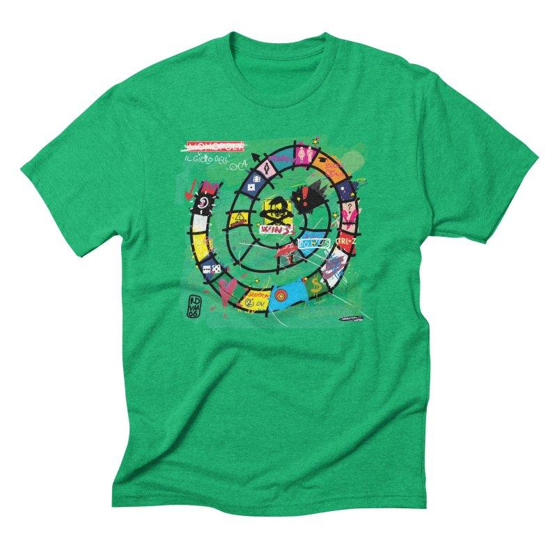Goose game Men's Triblend T-Shirt by ZEROSTILE'S ARTIST SHOP