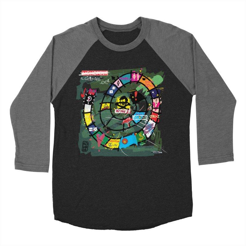 Goose game Women's Baseball Triblend T-Shirt by ZEROSTILE'S ARTIST SHOP