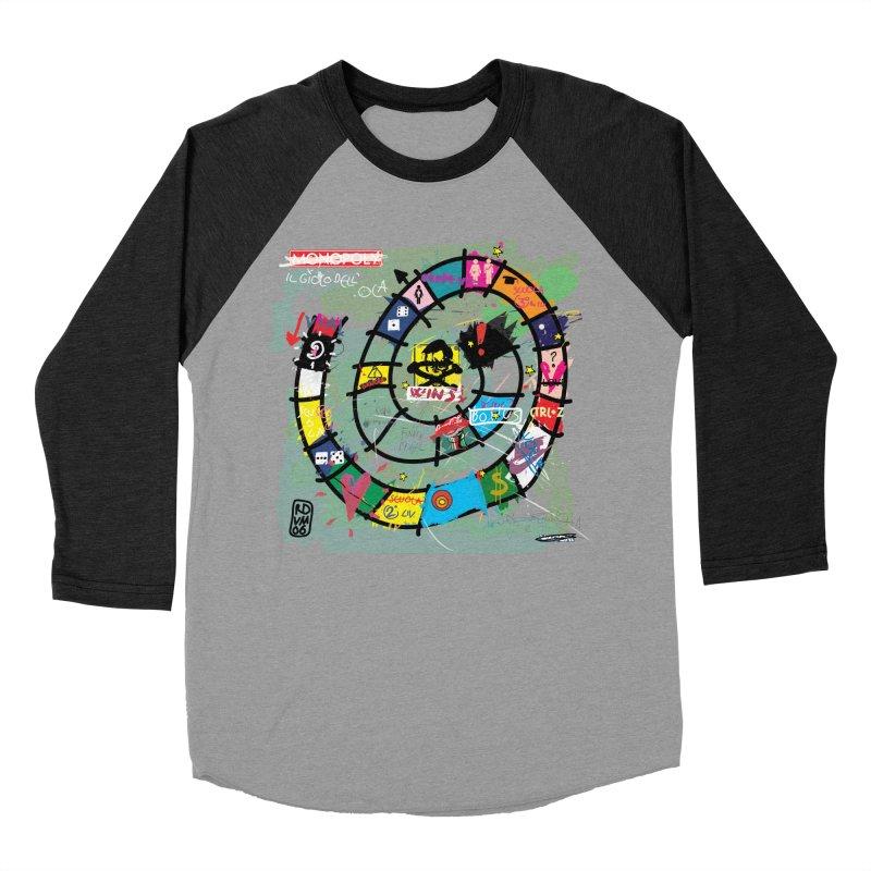 Goose game Men's Baseball Triblend T-Shirt by ZEROSTILE'S ARTIST SHOP