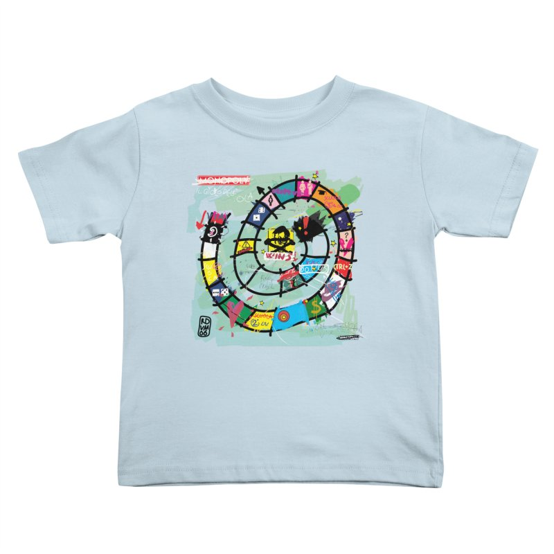 Goose game Kids Toddler T-Shirt by ZEROSTILE'S ARTIST SHOP