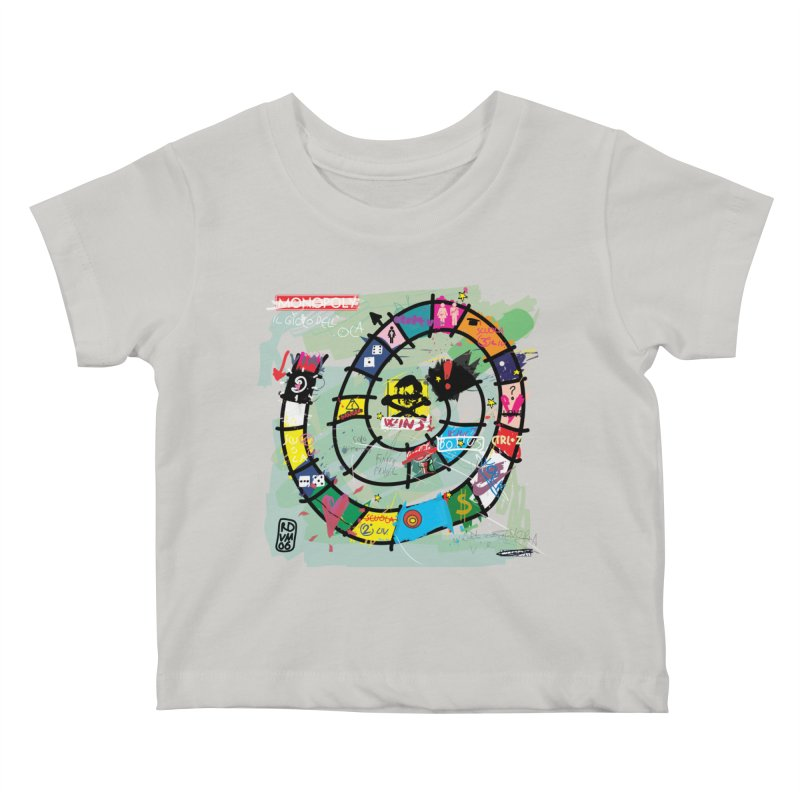 Goose game Kids Baby T-Shirt by ZEROSTILE'S ARTIST SHOP