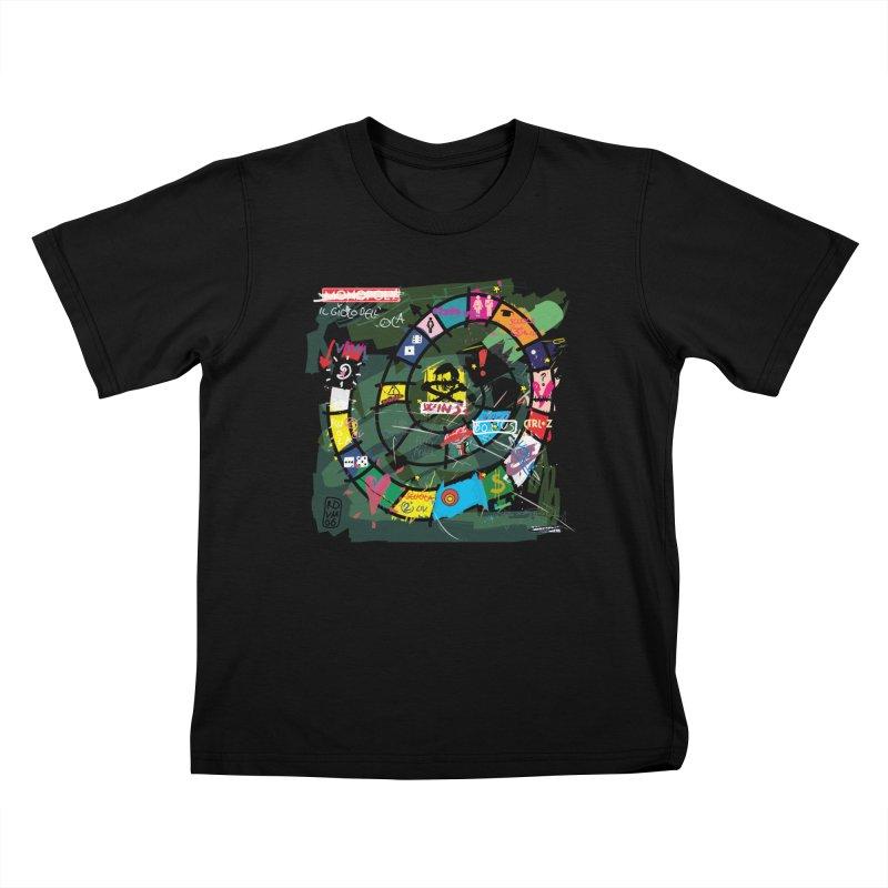 Goose game Kids T-shirt by ZEROSTILE'S ARTIST SHOP