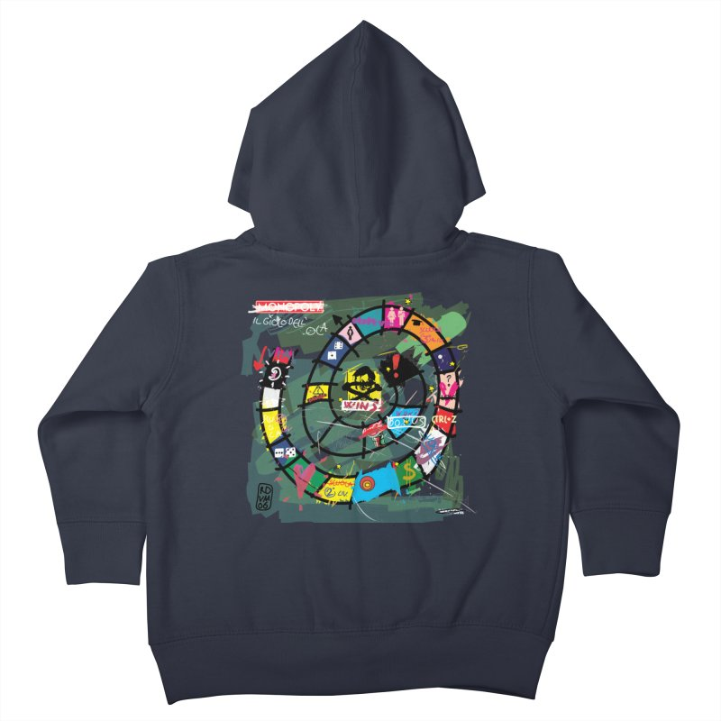 Goose game Kids Toddler Zip-Up Hoody by ZEROSTILE'S ARTIST SHOP