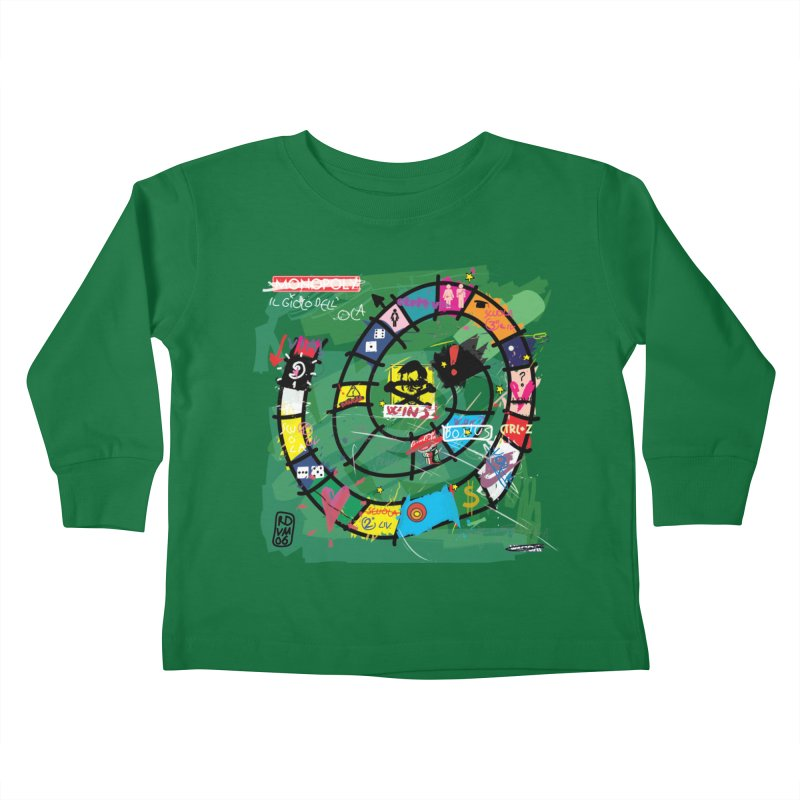 Goose game Kids Toddler Longsleeve T-Shirt by ZEROSTILE'S ARTIST SHOP