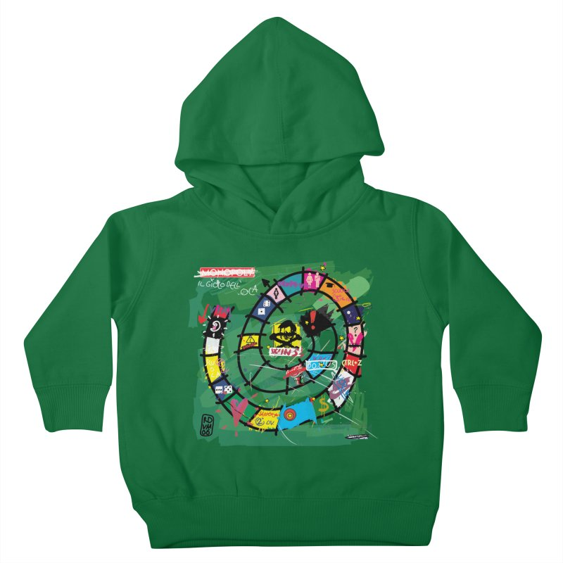 Goose game Kids Toddler Pullover Hoody by ZEROSTILE'S ARTIST SHOP