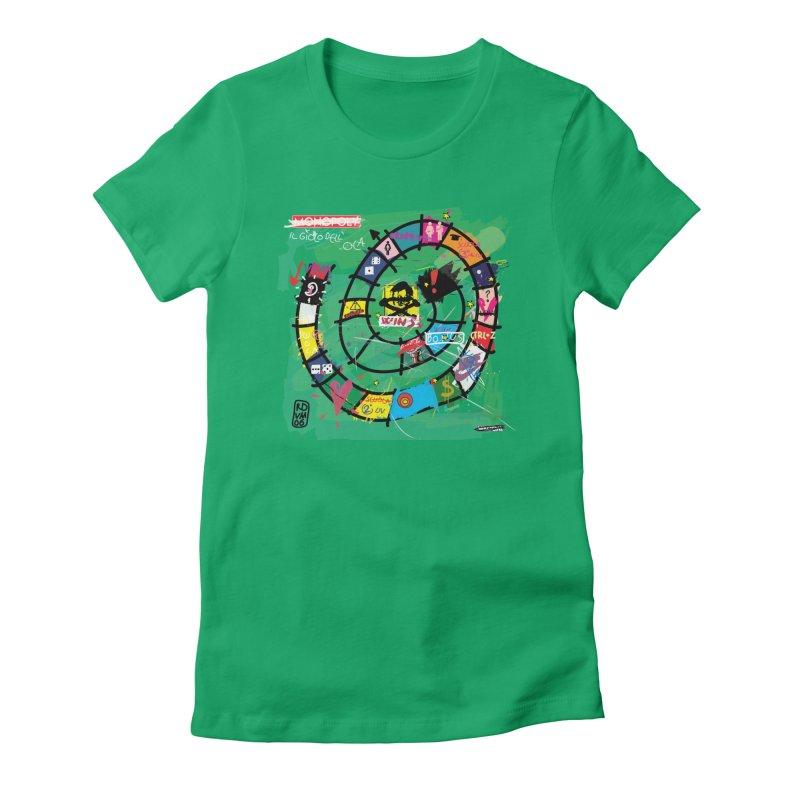 Goose game Women's T-Shirt by ZEROSTILE'S ARTIST SHOP