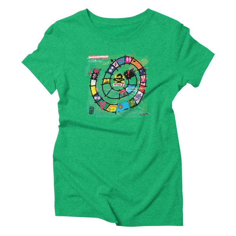 Goose game Women's Triblend T-Shirt by ZEROSTILE'S ARTIST SHOP