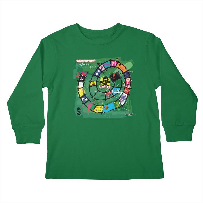 Goose game Kids Longsleeve T-Shirt by ZEROSTILE'S ARTIST SHOP