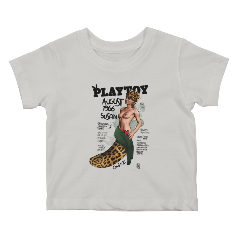SUSAN 1966 - PLAYTOY Kids Baby T-Shirt by ZEROSTILE'S ARTIST SHOP