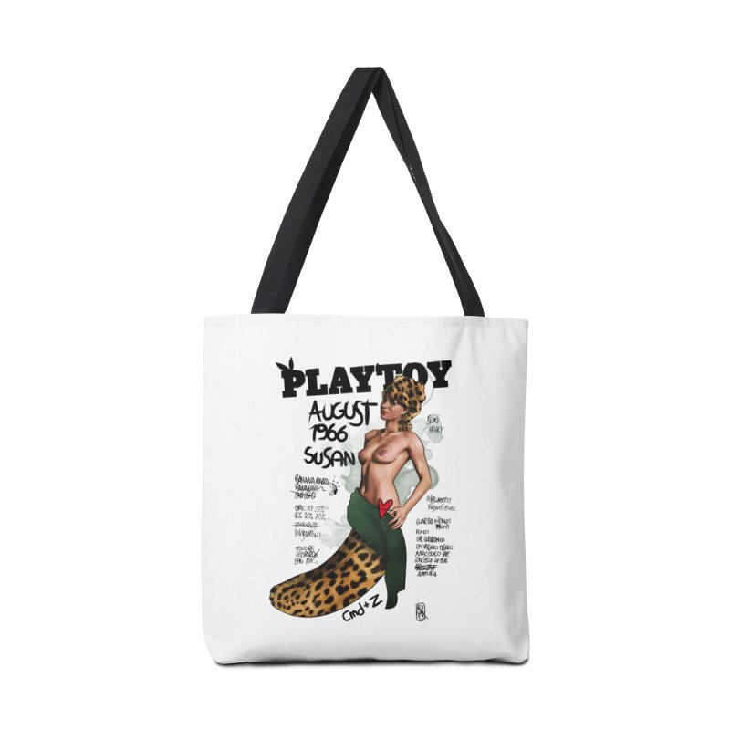 SUSAN 1966 - PLAYTOY Accessories Tote Bag Bag by ZEROSTILE'S ARTIST SHOP
