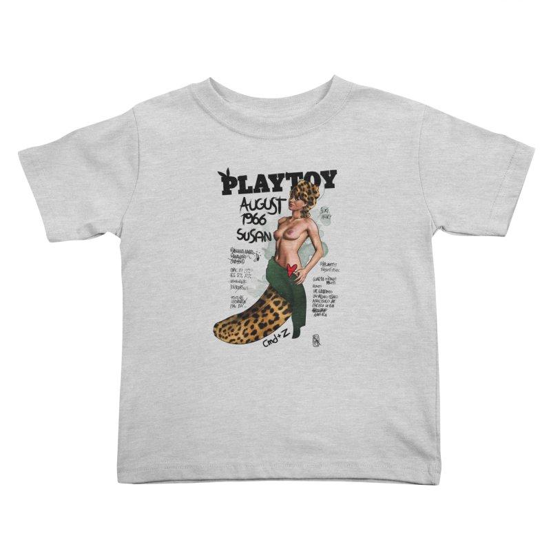 SUSAN 1966 - PLAYTOY Kids Toddler T-Shirt by ZEROSTILE'S ARTIST SHOP