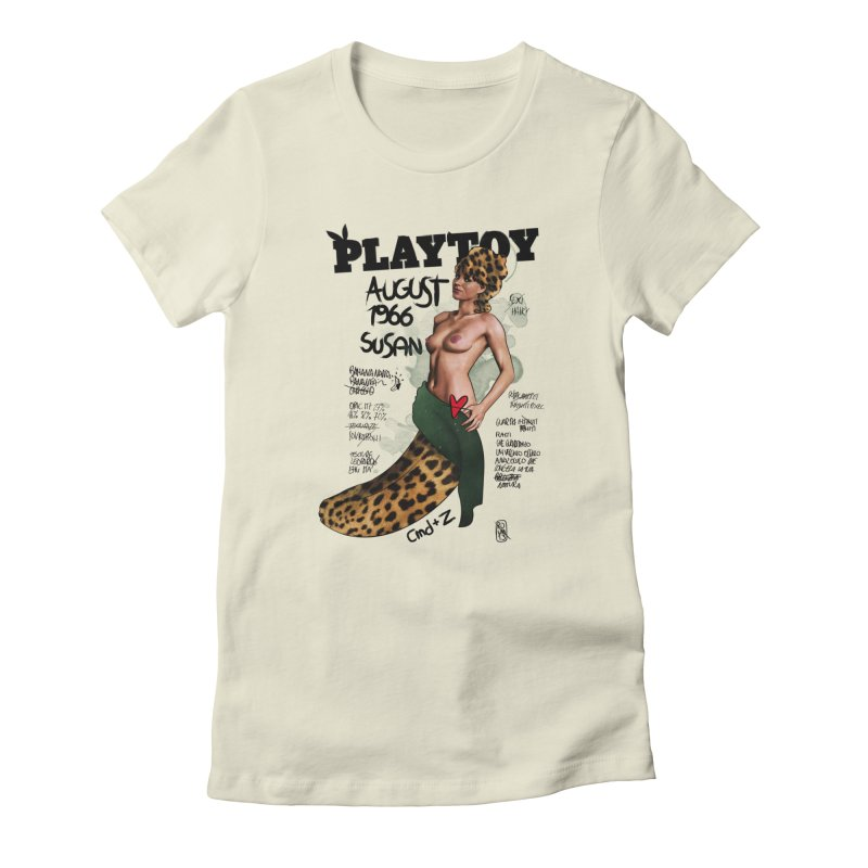SUSAN 1966 - PLAYTOY Women's T-Shirt by ZEROSTILE'S ARTIST SHOP