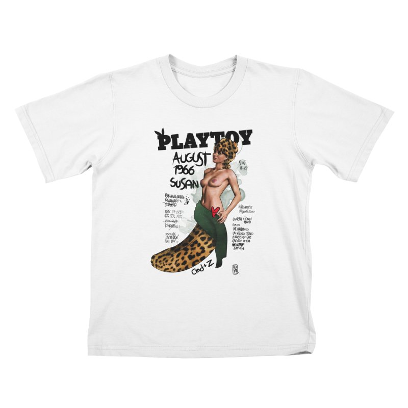 SUSAN 1966 - PLAYTOY Kids T-Shirt by ZEROSTILE'S ARTIST SHOP