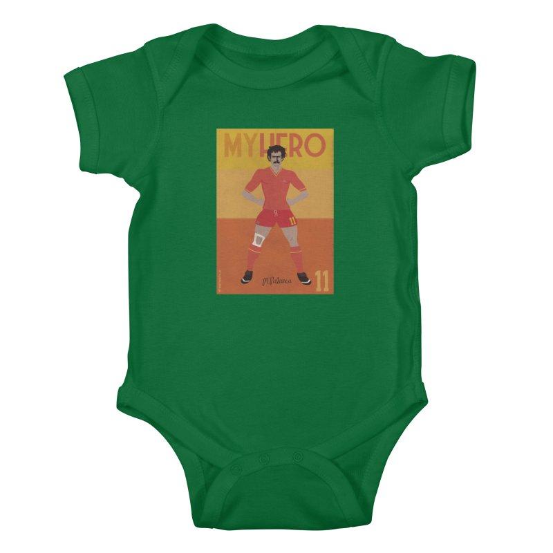 Palanca My Hero Vintage Edition Kids Baby Bodysuit by ZEROSTILE'S ARTIST SHOP