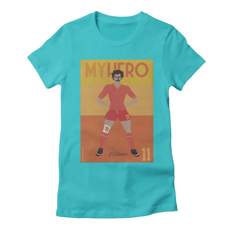Palanca My Hero Vintage Edition Women's Fitted T-Shirt by ZEROSTILE'S ARTIST SHOP