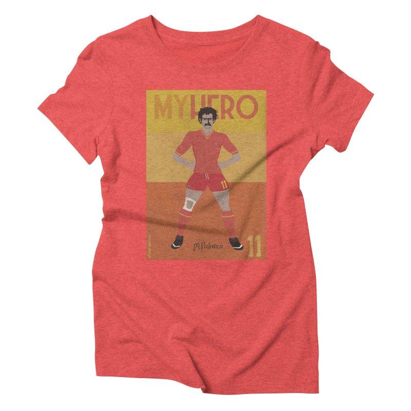 Palanca My Hero Vintage Edition Women's Triblend T-shirt by ZEROSTILE'S ARTIST SHOP