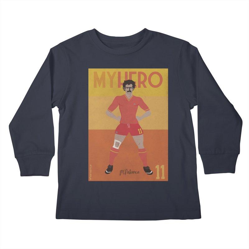 Palanca My Hero Vintage Edition Kids Longsleeve T-Shirt by ZEROSTILE'S ARTIST SHOP