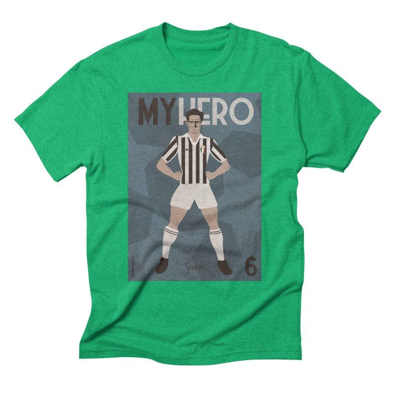 Scirea My Hero Vintage Edition Men's Triblend T-Shirt by ZEROSTILE'S ARTIST SHOP