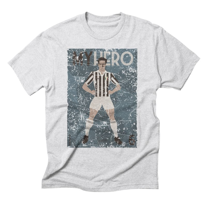 Scirea My Hero Grunge Edition Men's Triblend T-Shirt by ZEROSTILE'S ARTIST SHOP