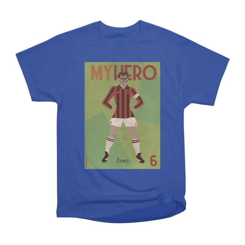 Baresi My Hero Vintage Edition Women's Classic Unisex T-Shirt by ZEROSTILE'S ARTIST SHOP