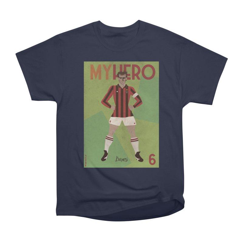 Baresi My Hero Vintage Edition Men's Heavyweight T-Shirt by ZEROSTILE'S ARTIST SHOP