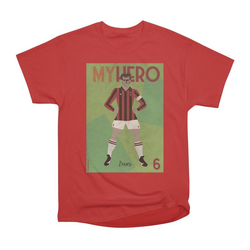 Baresi My Hero Vintage Edition Men's Classic T-Shirt by ZEROSTILE'S ARTIST SHOP