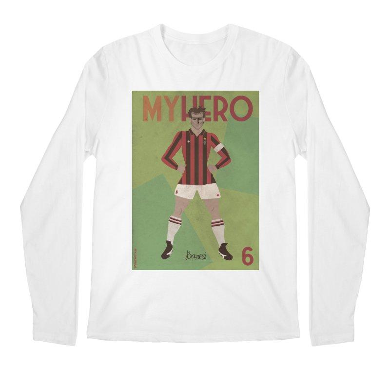 Baresi My Hero Vintage Edition Men's Longsleeve T-Shirt by ZEROSTILE'S ARTIST SHOP