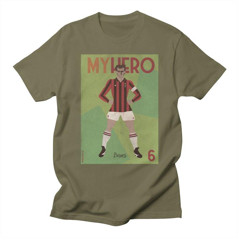 Baresi My Hero Vintage Edition Men's T-Shirt by ZEROSTILE'S ARTIST SHOP