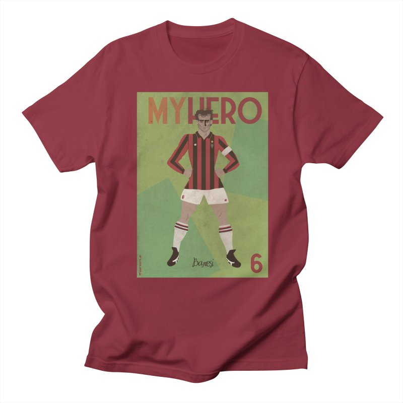 Baresi My Hero Vintage Edition Women's Unisex T-Shirt by ZEROSTILE'S ARTIST SHOP