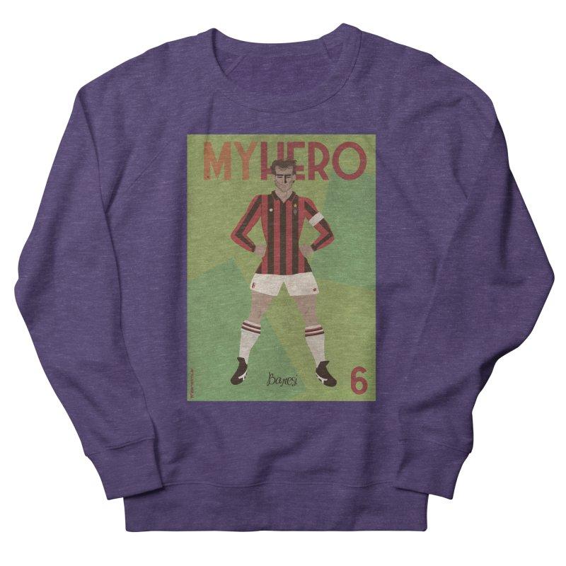 Baresi My Hero Vintage Edition Women's Sweatshirt by ZEROSTILE'S ARTIST SHOP