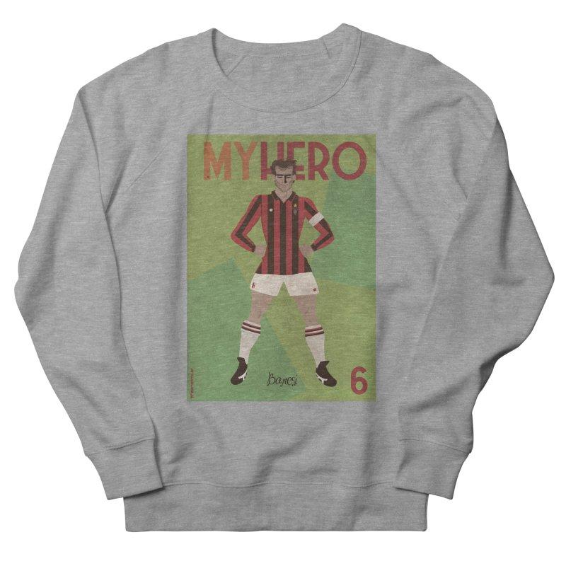 Baresi My Hero Vintage Edition Men's Sweatshirt by ZEROSTILE'S ARTIST SHOP