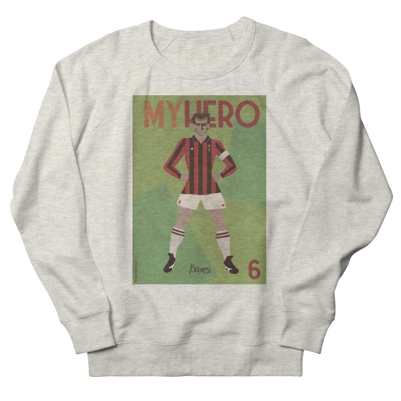 Baresi My Hero Vintage Edition Men's Sweatshirt by ZEROSTILE'S ARTIST SHOP