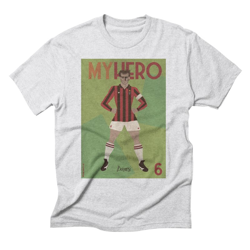 Baresi My Hero Vintage Edition Men's Triblend T-Shirt by ZEROSTILE'S ARTIST SHOP