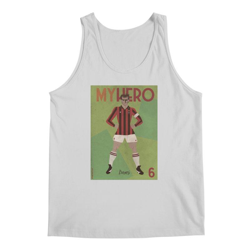 Baresi My Hero Vintage Edition Men's Tank by ZEROSTILE'S ARTIST SHOP