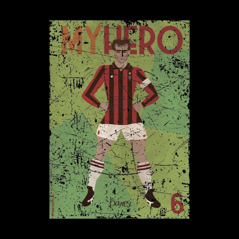 Baresi My Hero Grunge Edition by ZEROSTILE'S ARTIST SHOP