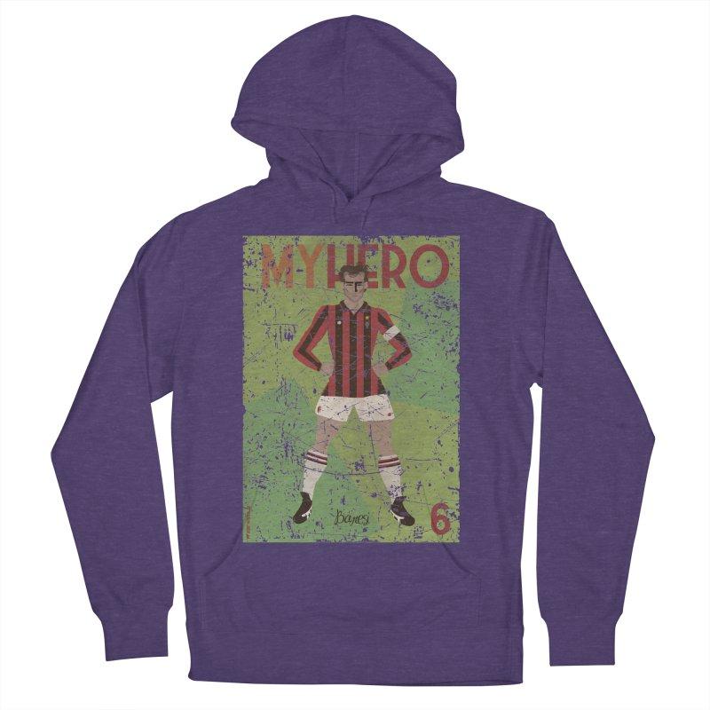 Baresi My Hero Grunge Edition Men's Pullover Hoody by ZEROSTILE'S ARTIST SHOP