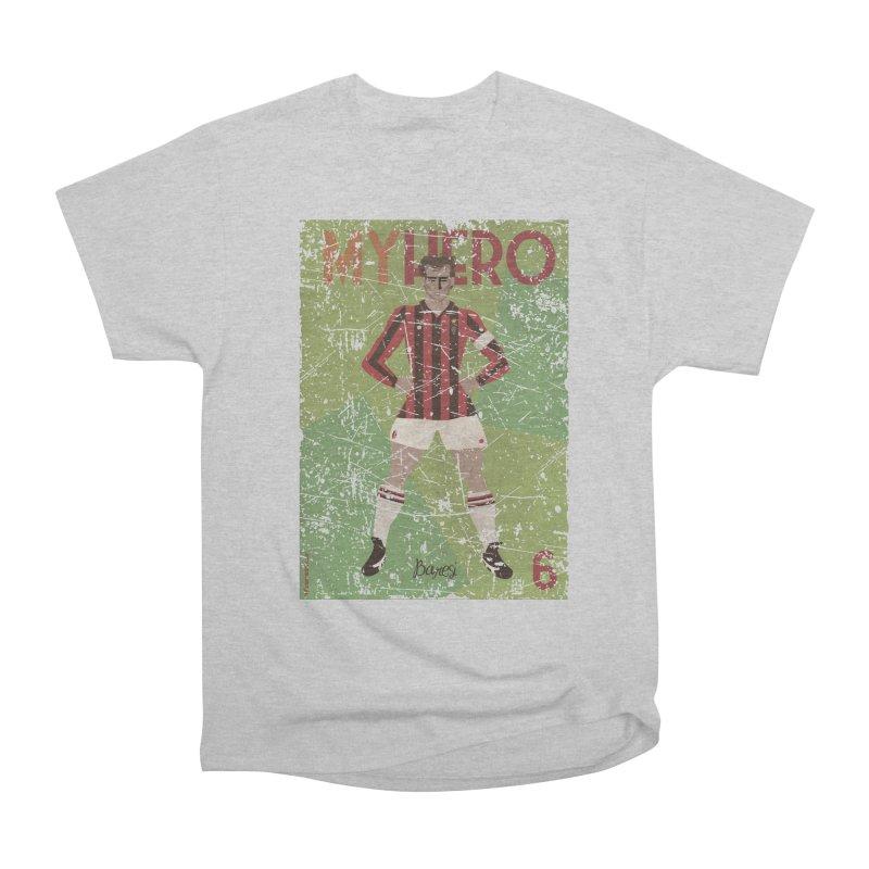 Baresi My Hero Grunge Edition Women's Heavyweight Unisex T-Shirt by ZEROSTILE'S ARTIST SHOP