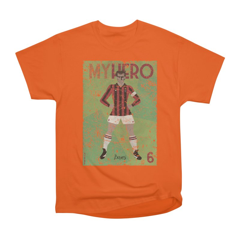 Baresi My Hero Grunge Edition Men's Classic T-Shirt by ZEROSTILE'S ARTIST SHOP