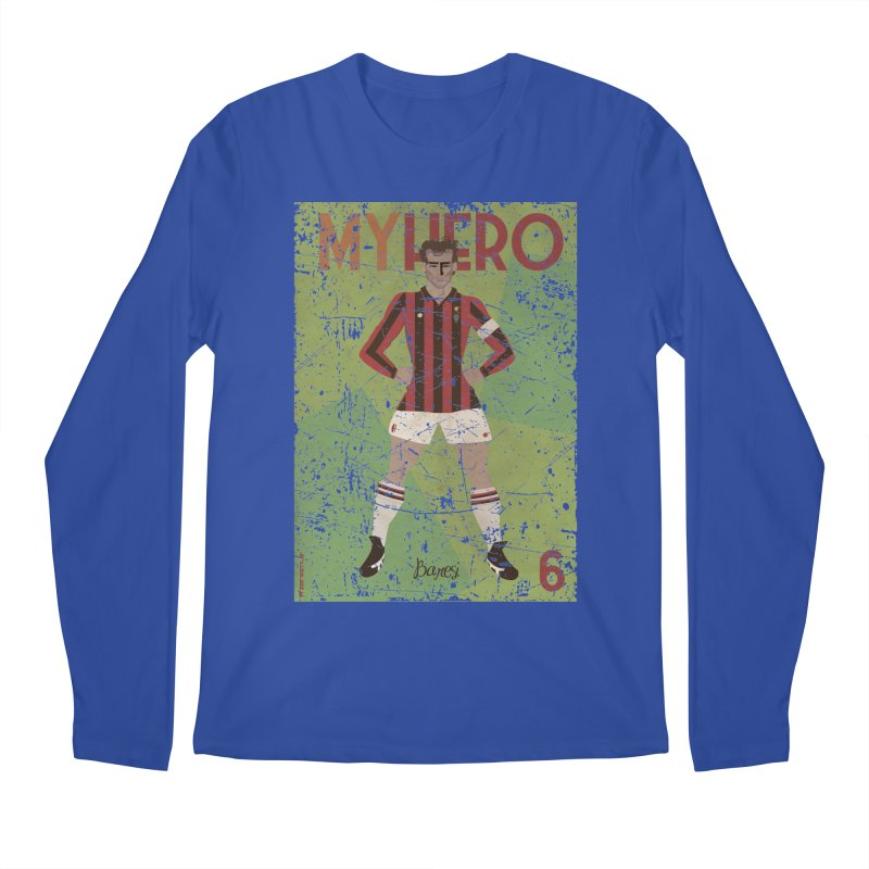 Baresi My Hero Grunge Edition Men's Longsleeve T-Shirt by ZEROSTILE'S ARTIST SHOP