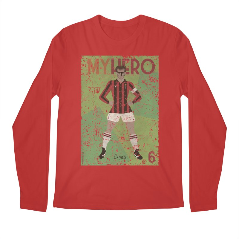 Baresi My Hero Grunge Edition Men's Longsleeve T-Shirt by ZEROSTILE'S ARTIST SHOP