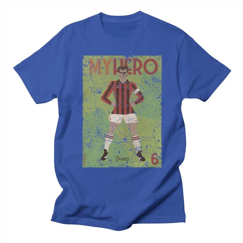 Baresi My Hero Grunge Edition Men's T-shirt by ZEROSTILE'S ARTIST SHOP