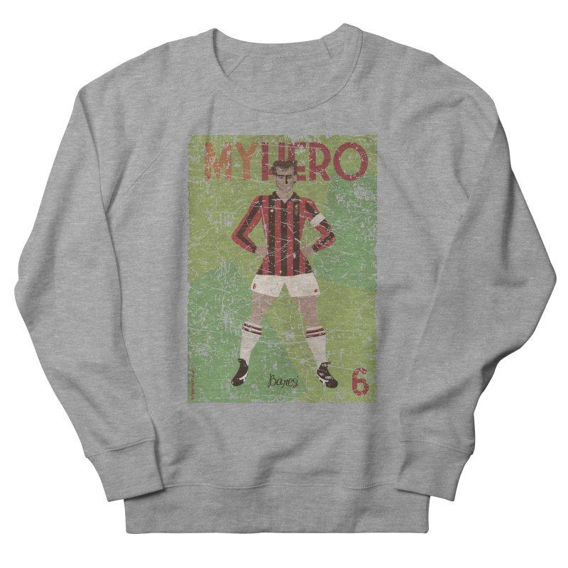 Baresi My Hero Grunge Edition Women's Sweatshirt by ZEROSTILE'S ARTIST SHOP