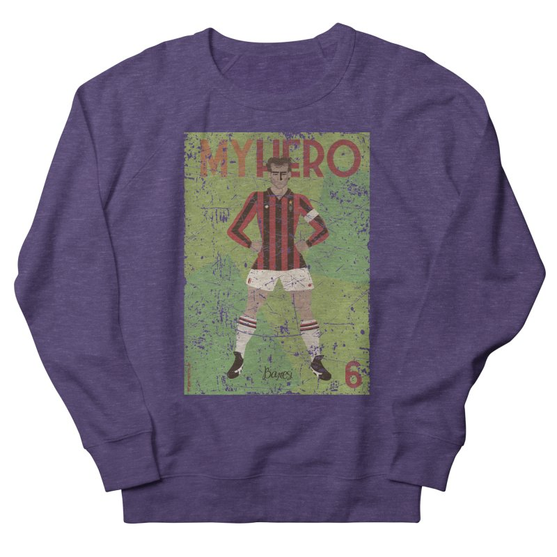 Baresi My Hero Grunge Edition Men's Sweatshirt by ZEROSTILE'S ARTIST SHOP