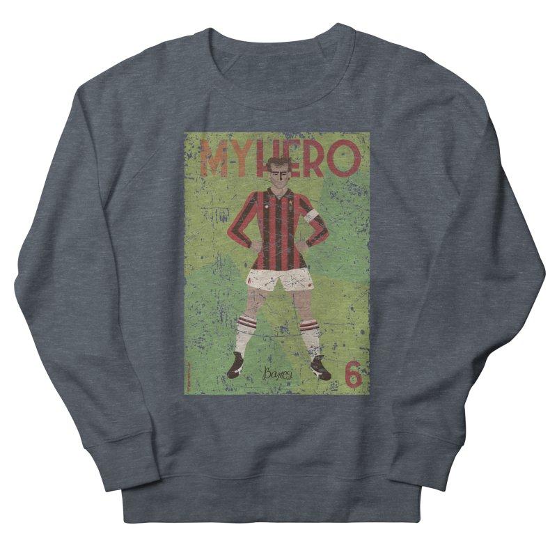 Baresi My Hero Grunge Edition Men's Sweatshirt by ZEROSTILE'S ARTIST SHOP