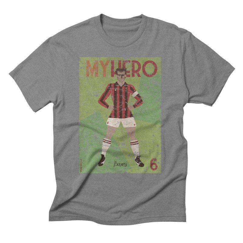 Baresi My Hero Grunge Edition Men's Triblend T-Shirt by ZEROSTILE'S ARTIST SHOP